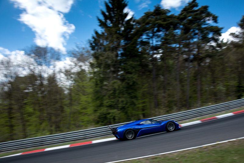 Nio EP9 Nürburgring ronderecord