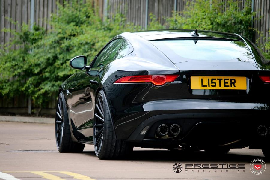Jaguar F-Type Vossen Wheels