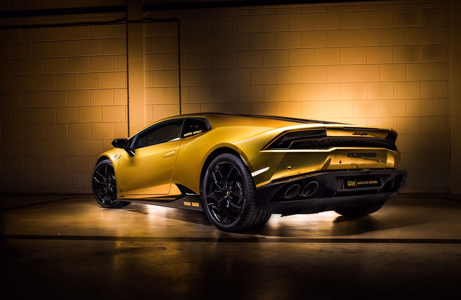 Joel Beukers Lamborghini Huracan