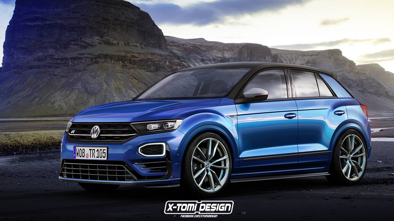de nieuwe volkswagen t roc als gti en r. Black Bedroom Furniture Sets. Home Design Ideas