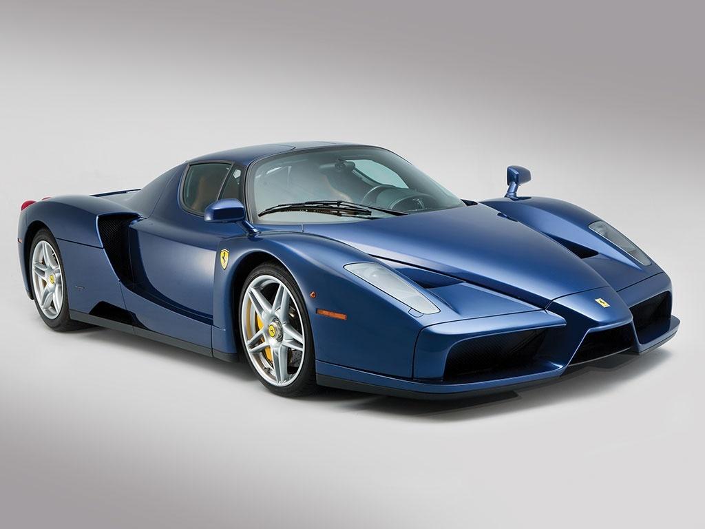 Blue Ferrari Enzo