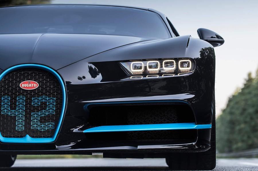 Bugatti Chiron snelheidsrecord