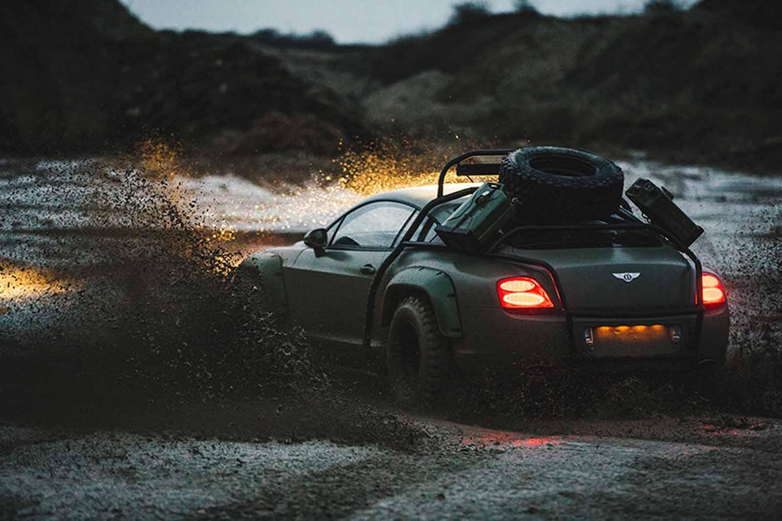 Off-road Bentley Continental GT