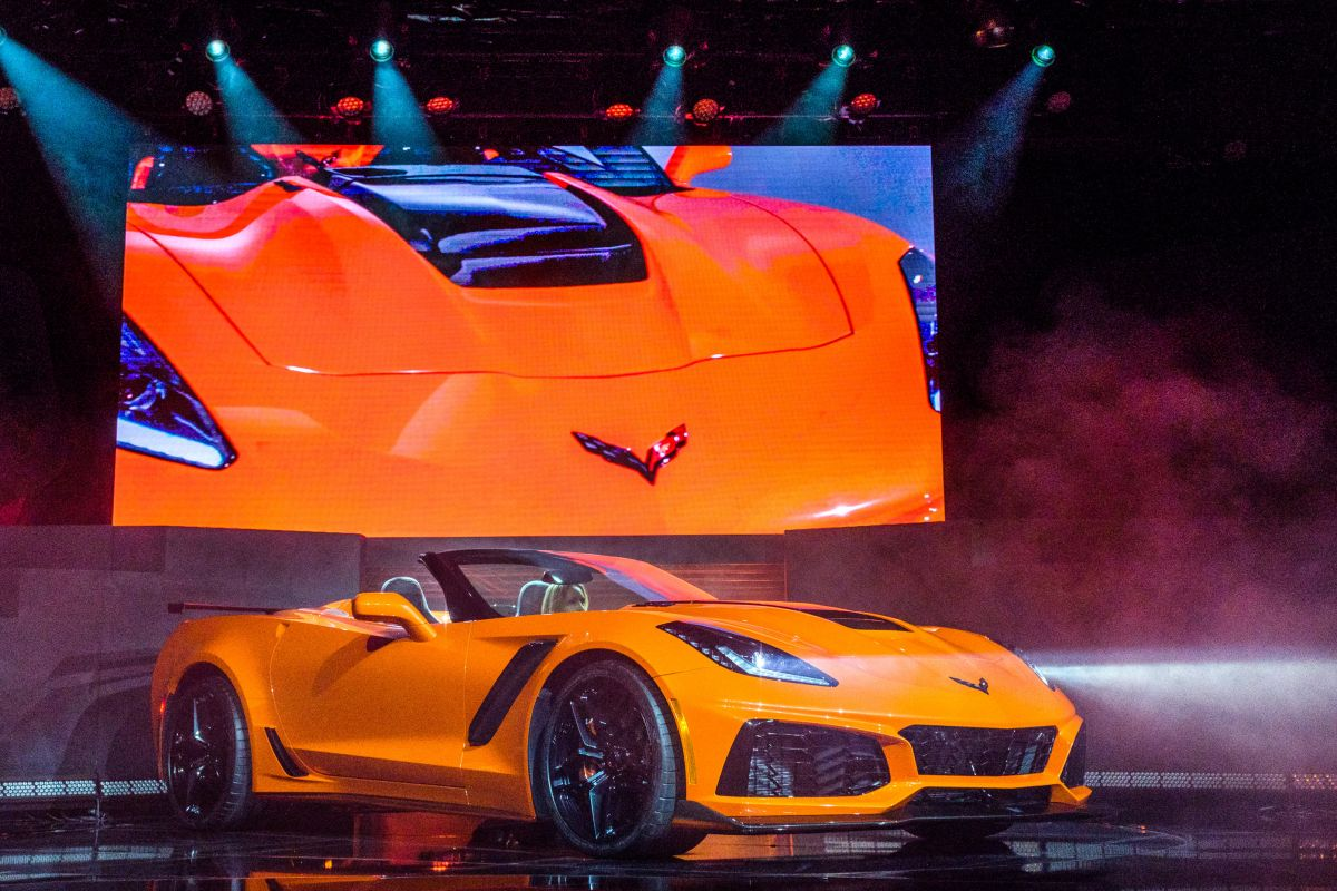 2018 Corvette ZR1 Cabriolet
