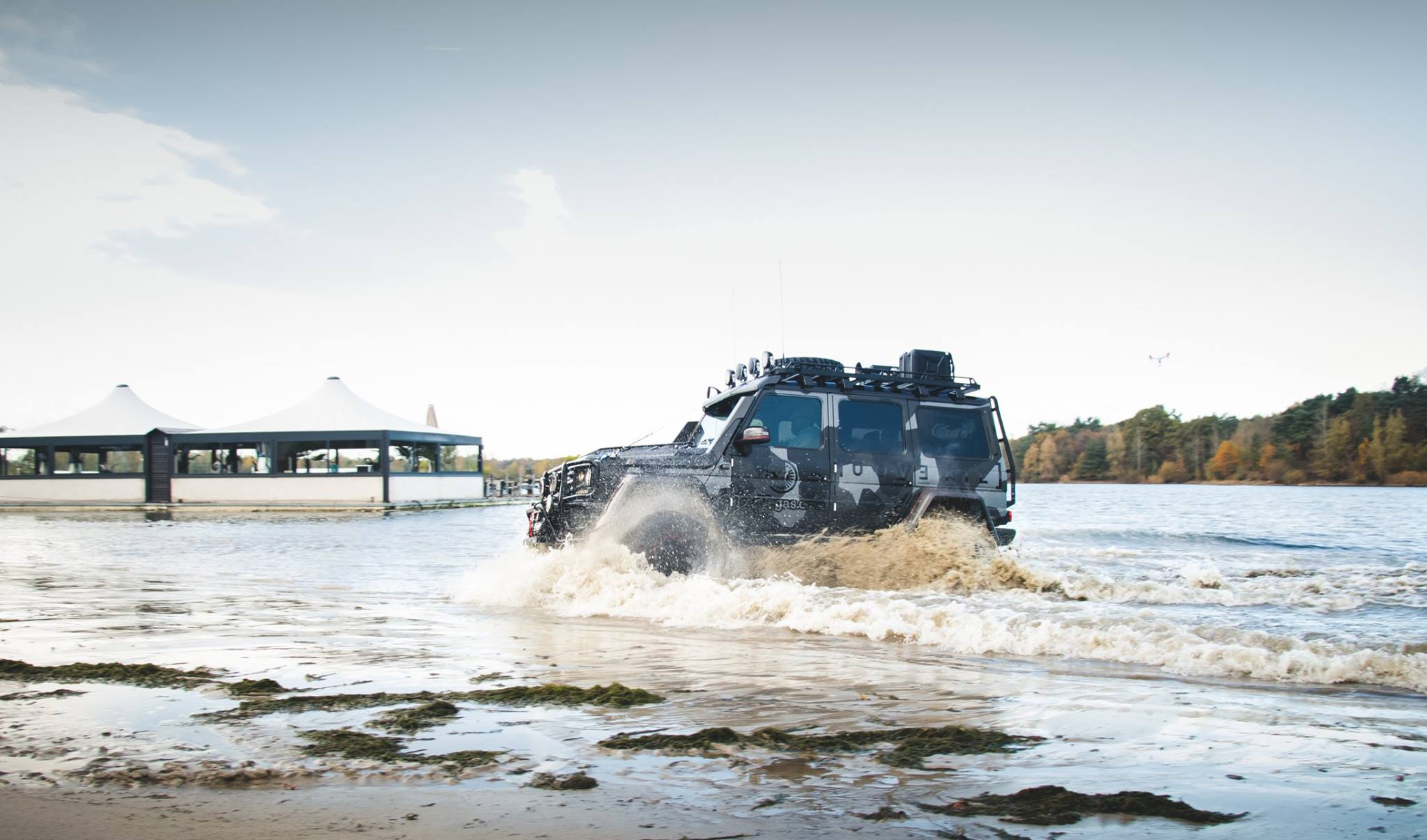Jon Olsson Mercedes G500 4×4²