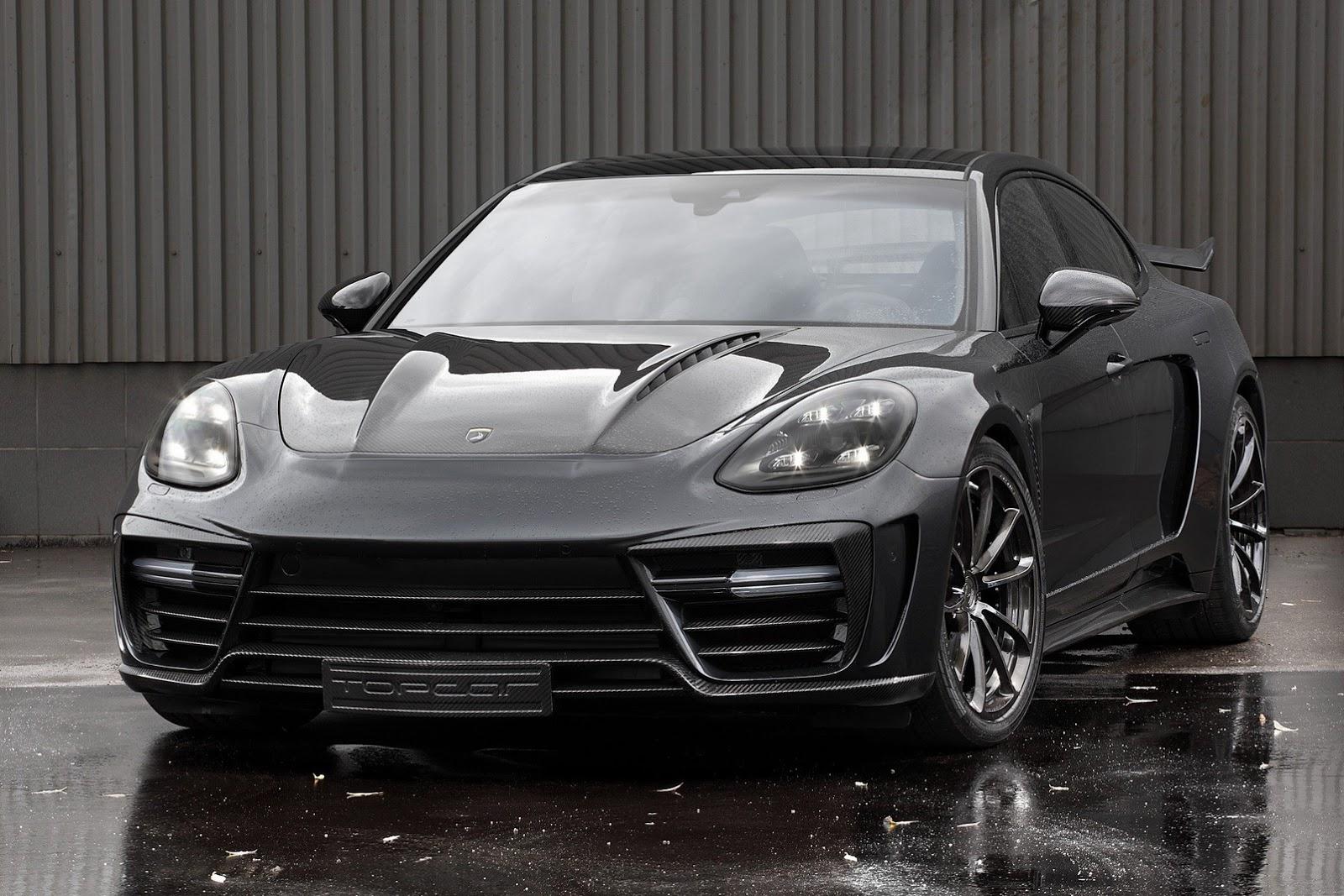 Porsche Panamera Turbo TopCar