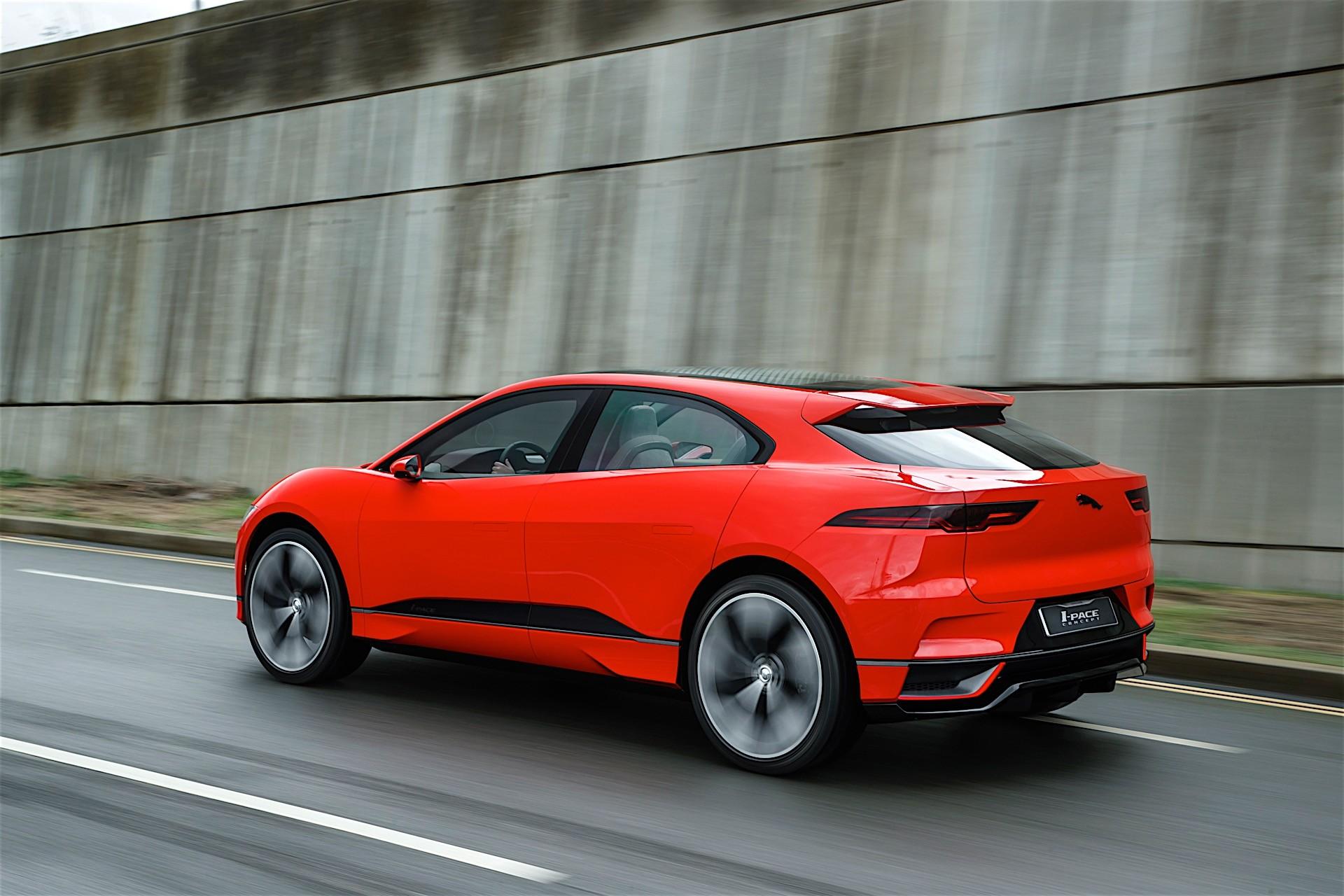 Dit is de 2019 Jaguar i-Pace, een elektrische crossover ...