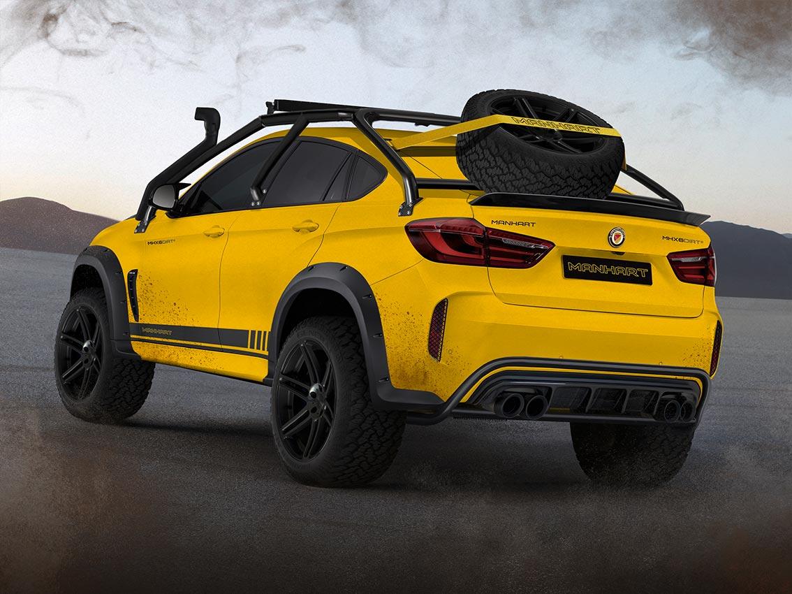 Manhart MHX6 Dirt2 Concept