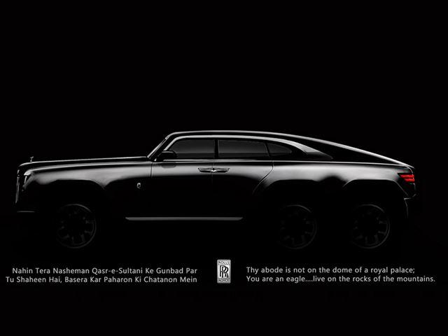 Rolls Royce Wraith 6x6
