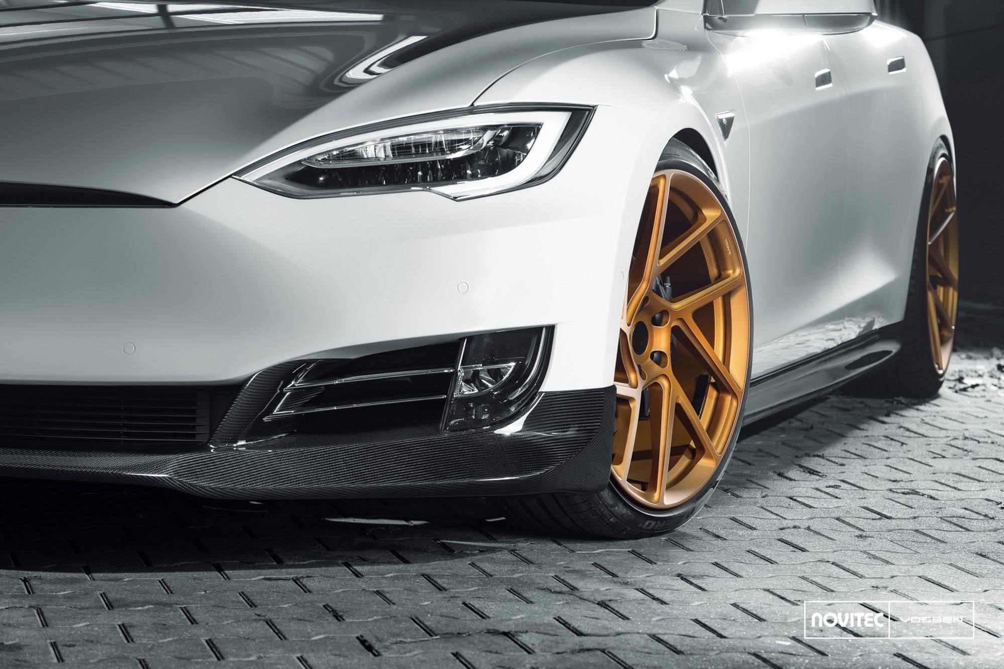 Tesla Vossen Wheels