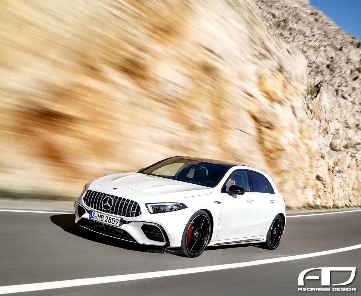 Nieuwe Mercedes Amg A45 Is Een Lust Voor Het Oog Hartvoorautos Nl