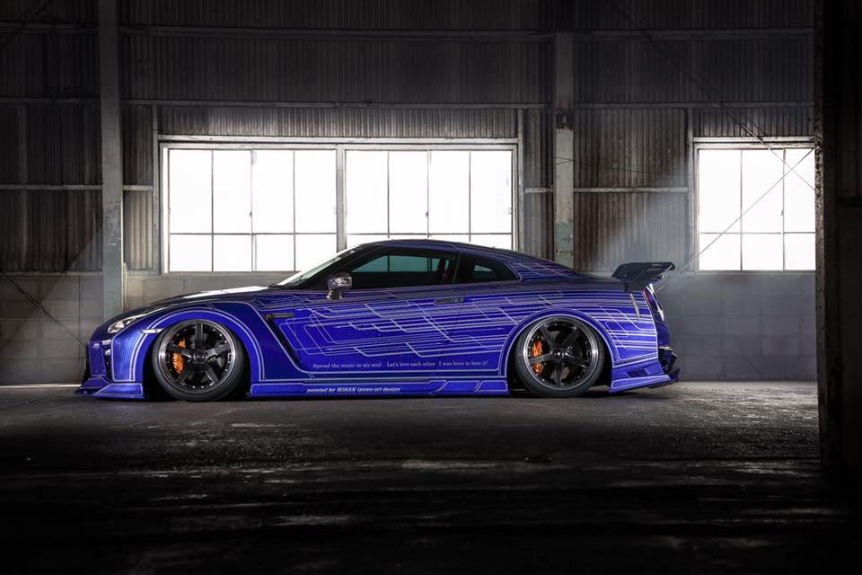 Nissan GT-R Kuhl Racing