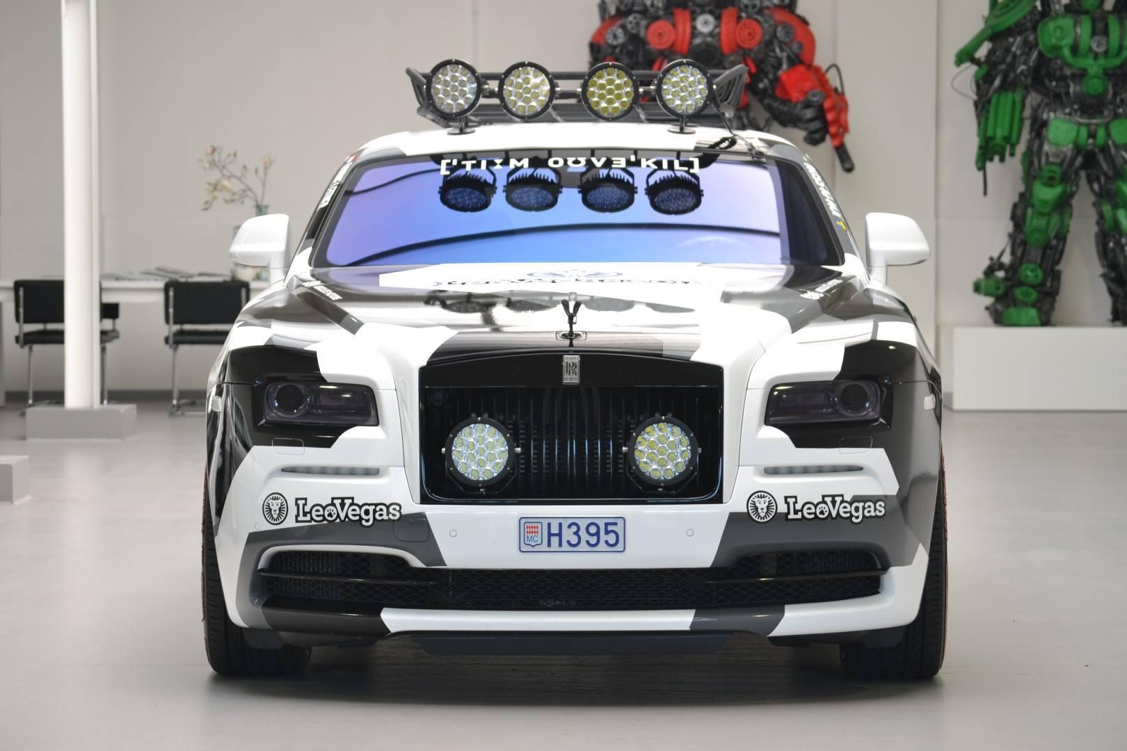 Rolls Royce Wraith Jon Olsson