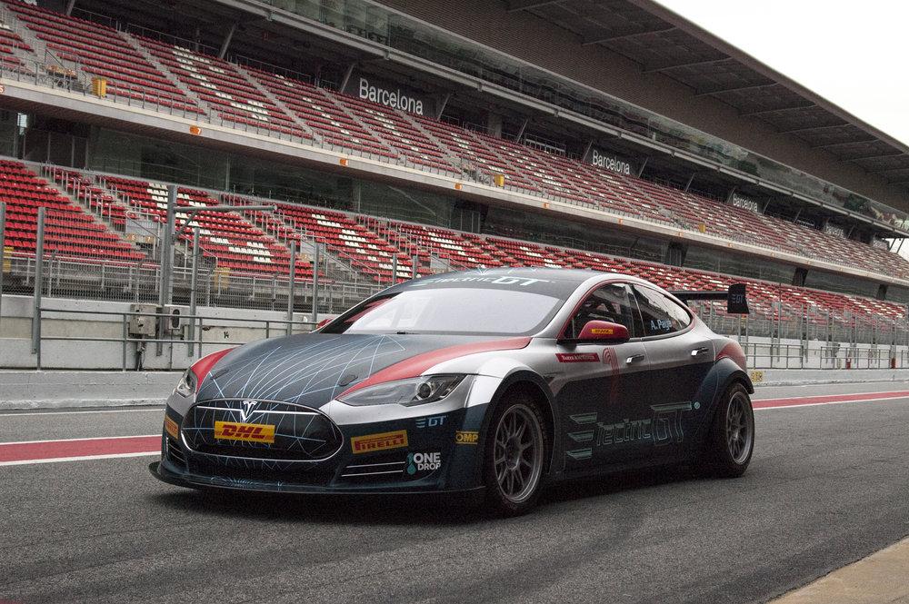 Tesla Model S Racing