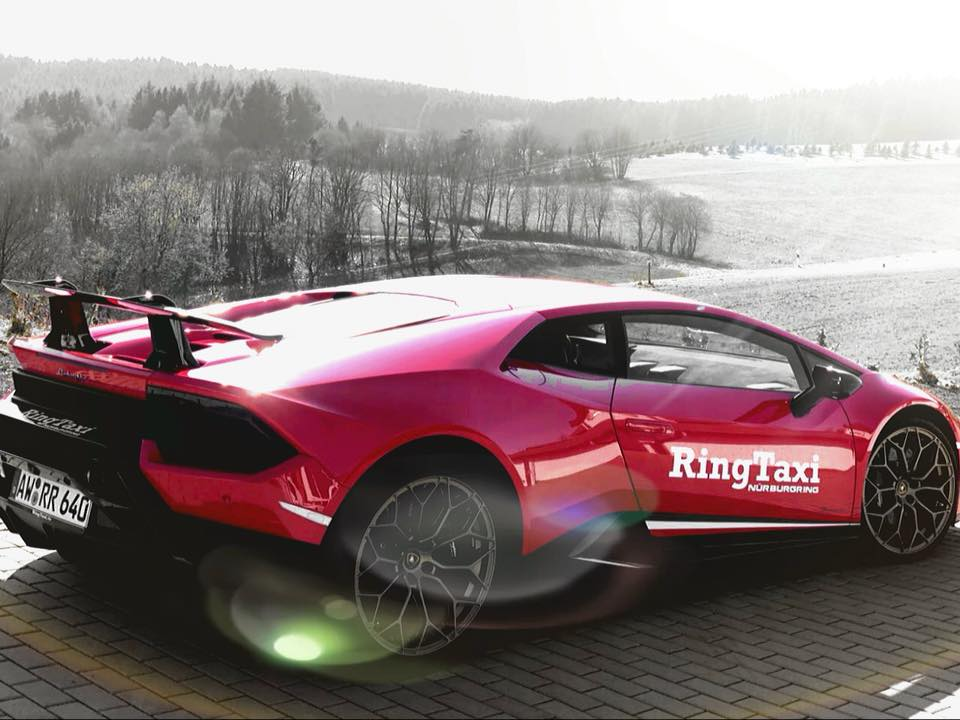 Lamborghini Huracan Performante Ringtaxi
