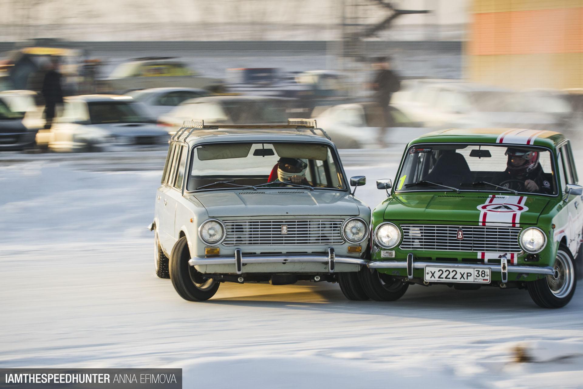 Lada Drifting