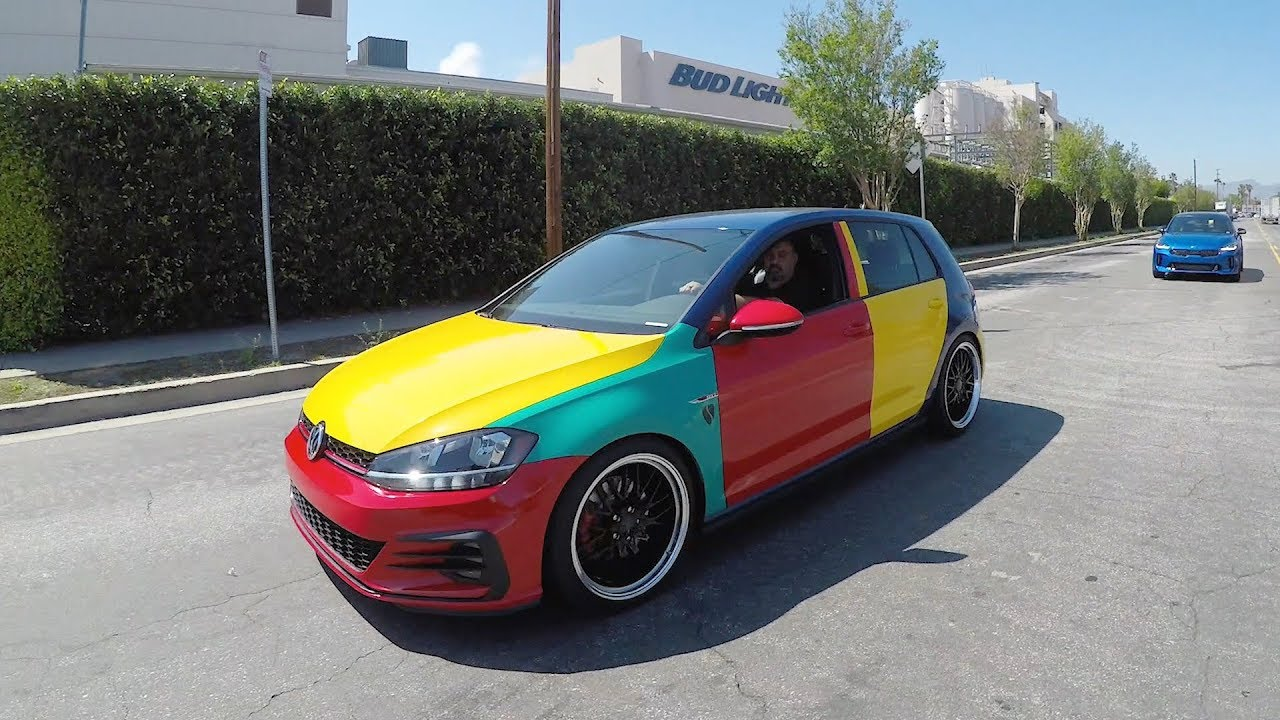 Golf GTI Harlequin