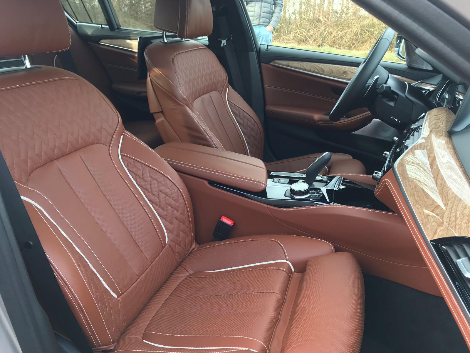 2018 BMW M550d