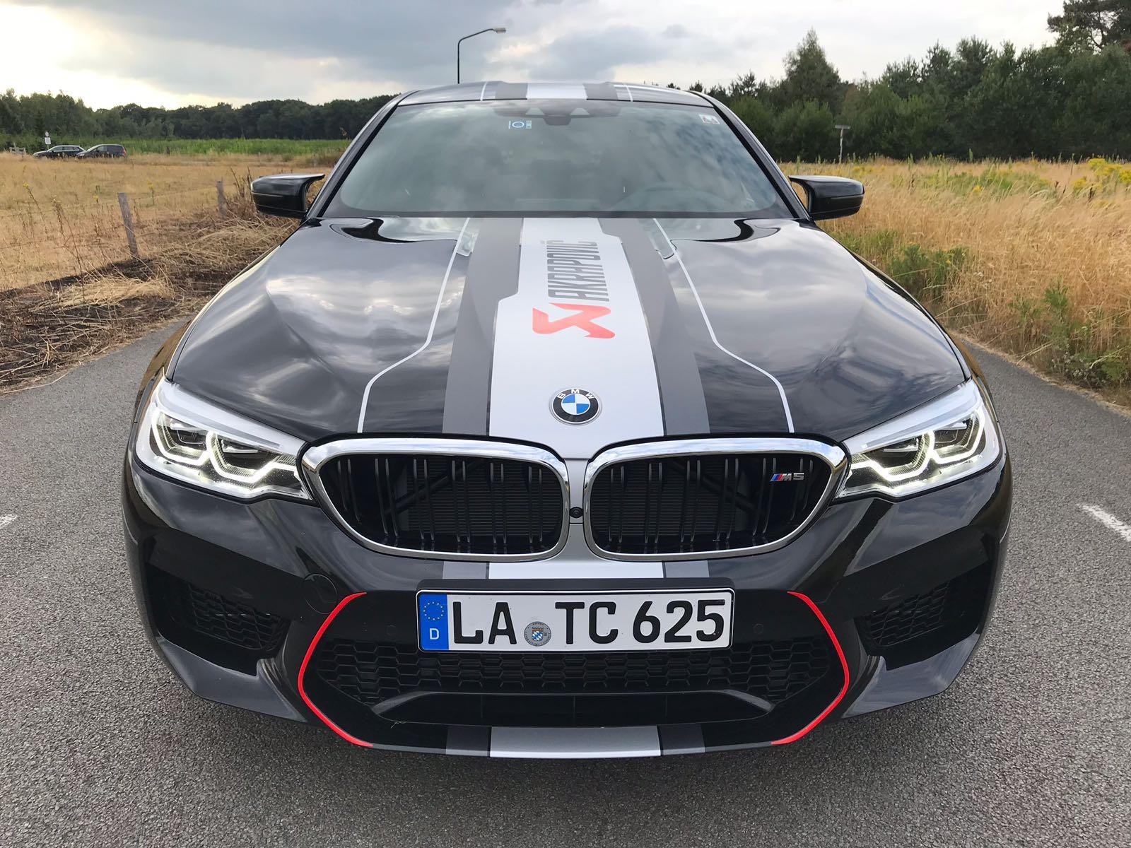 BMW M5 F90 Akrapovic