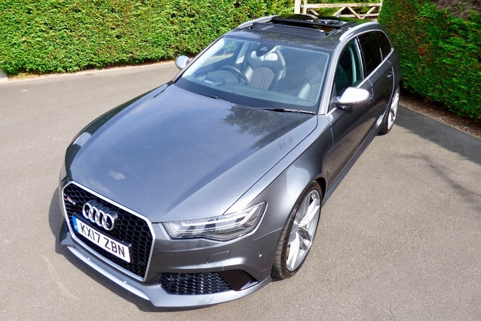 Audi RS6 Prince harry