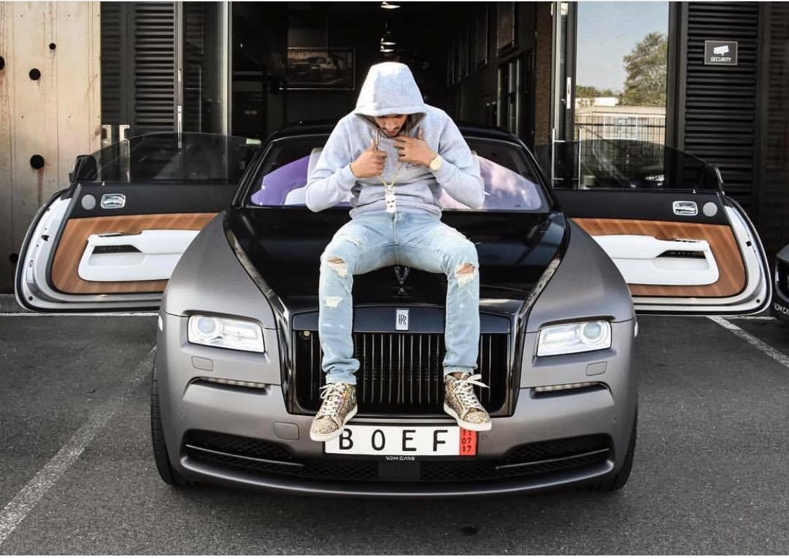 Rolls-Royce Wraith Rapper Boef