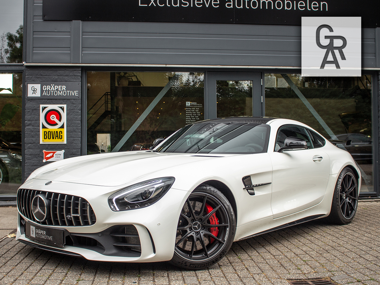 occasion van de week mercedes amg gt r t w v. Black Bedroom Furniture Sets. Home Design Ideas