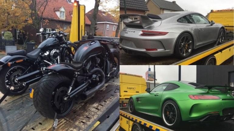 Fiod Neemt Exclusieve Auto S In Beslag Hartvoorautos Nl
