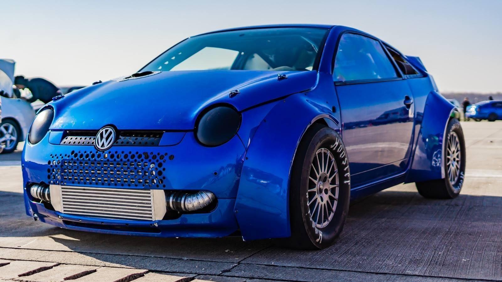 Deze 1243 pk sterke VW Lupo gaat van 0 tot 100 km/h in 2,2 seconden