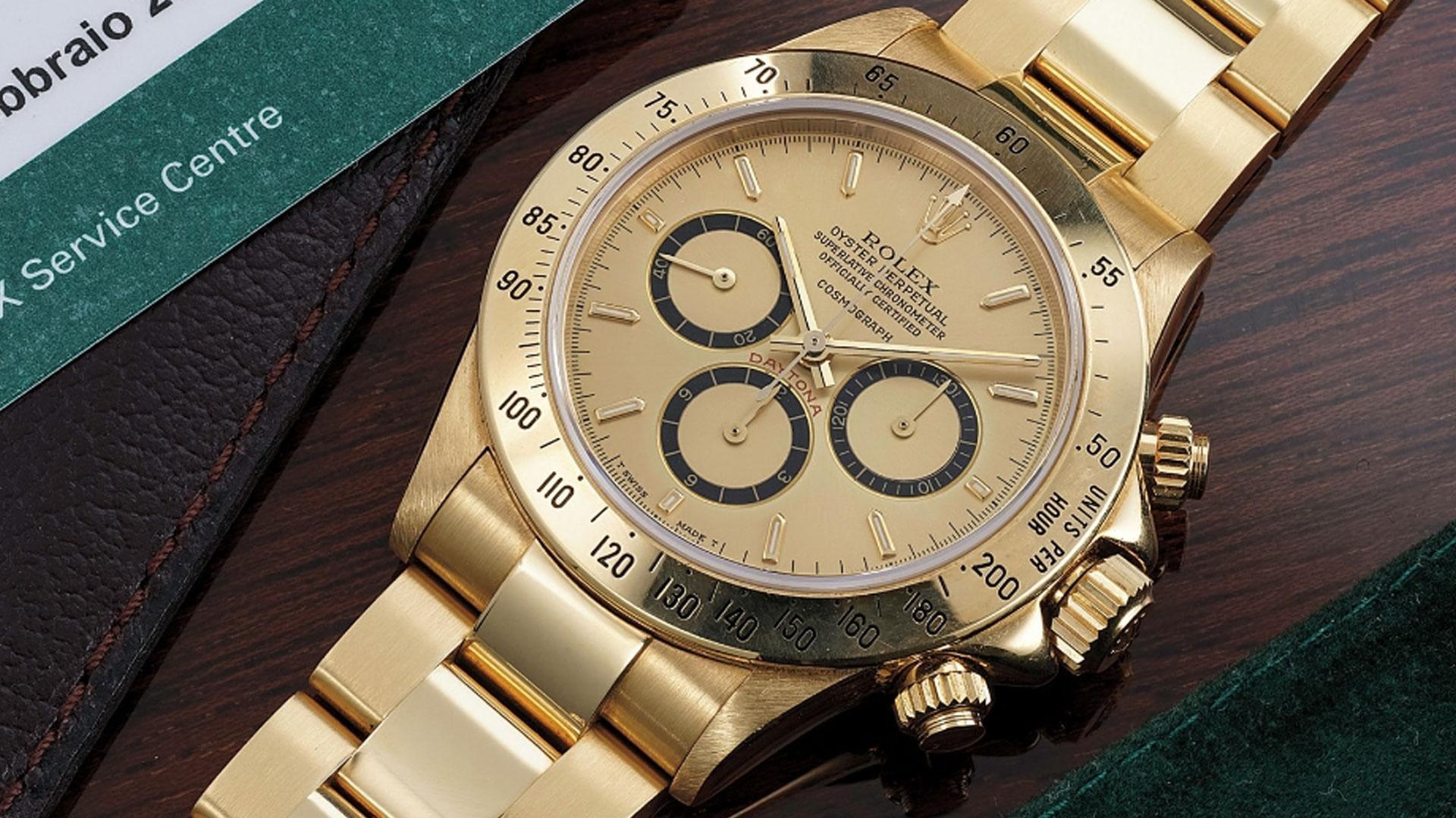 De gouden Rolex Ayrton Senna staat te koop en dit moet hij opbrengen