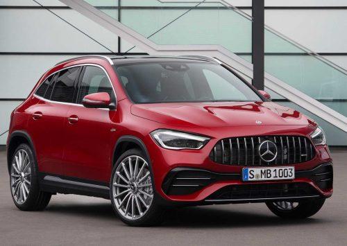 Officieel: De nieuwe Mercedes-AMG GLA 35!
