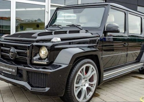 Iemand interesse in een G63 AMG limo?