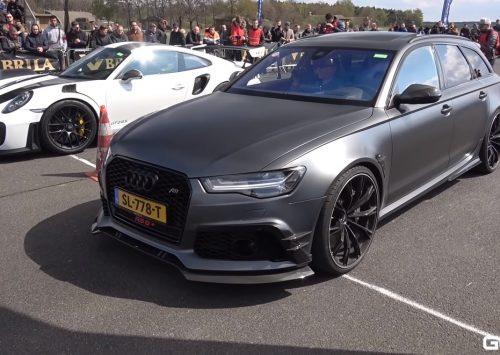 [VIDEO] ABT Audi RS6+ vs SUPERCARS!