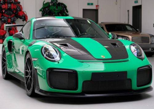 Porsche 991 GT2 RS in Signal Grun is een droomauto!