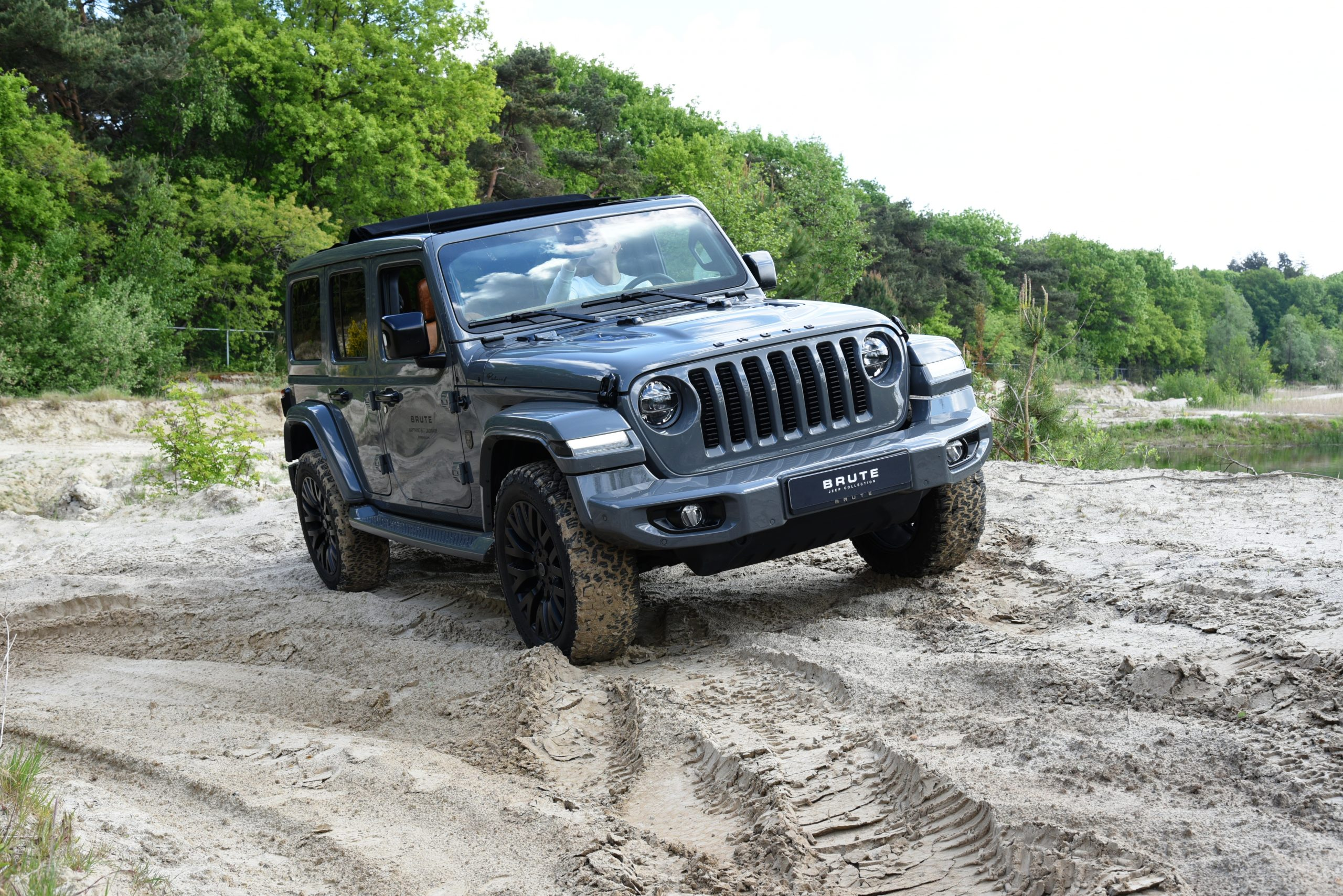 Gereden Brute Richmond Jeep Wrangler Off Road Hartvoorautos Nl