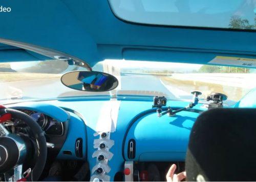 [VIDEO] Los gaan met de Bugatti Chiron Pur Sport!