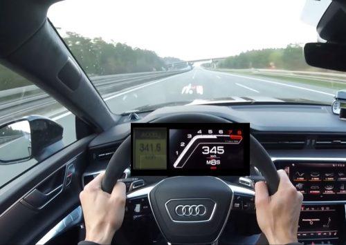 [VIDEO] 2020 Audi RS7 MTM doet 346 km/h!