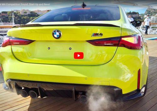 [VIDEO] Het geluid van de nieuwe BMW M4 Competition!