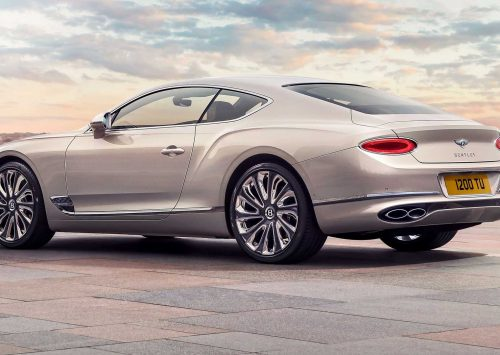 Dit is de extra luxe Bentley Continental GT Mulliner Coupé