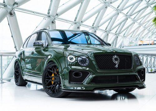 Is dit de dikste Bentley Bentayga van Nederland?