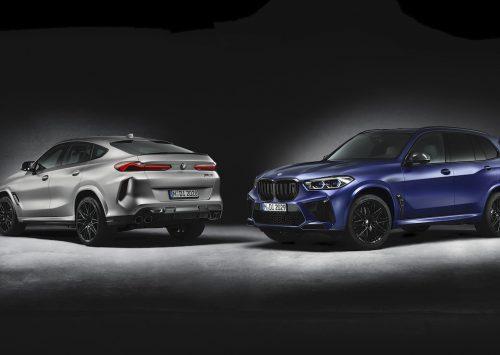 BMW X5 M en X6 M First Edition: slechts 250 stuks