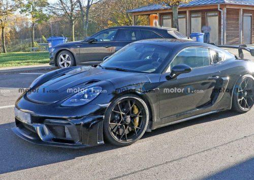 Gespot: Porsche 718 Cayman GT4 RS!