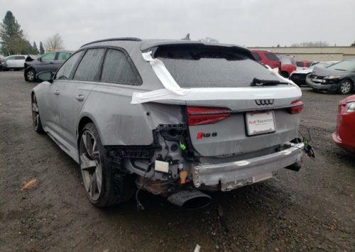 Iemand interesse in een opknappertje? Audi RS6!