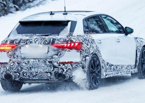 Nieuwe Audi RS3 bijna klaar voor productie!