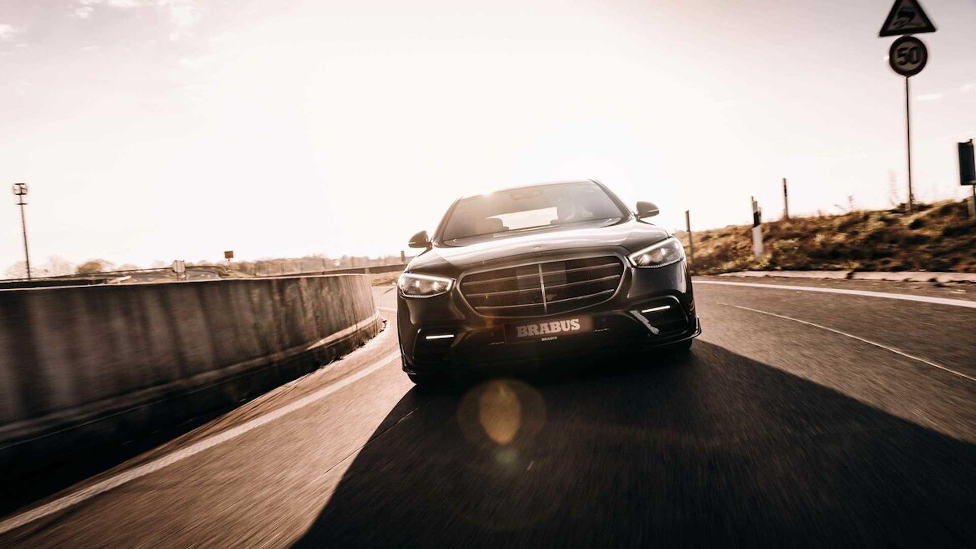 2021 Mercedes S klasse krijgt Brabus 500 tune ...