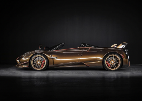 Pagani bouwt bizarre One-Off Huayra Roadster Supernova!!