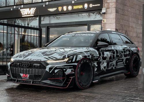 """De Audi RS6 C8 """"Leon"""" van Jon Olsson staat te koop!!"""