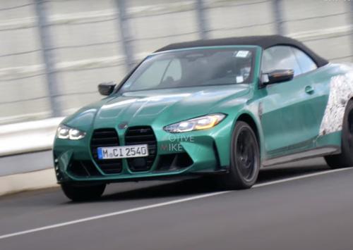 BMW M4 Cabrio toont zich op Nürburgring!