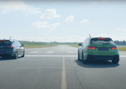 2021 VW Golf R vs Audi RS6 Avant!