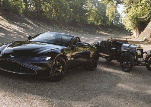 Speciale Aston Martin Vantage Roadster is eerbetoon aan oudste auto het merk