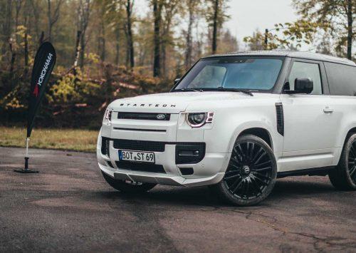 Land Rover Defender krijgt strakke make-over van Startech!!